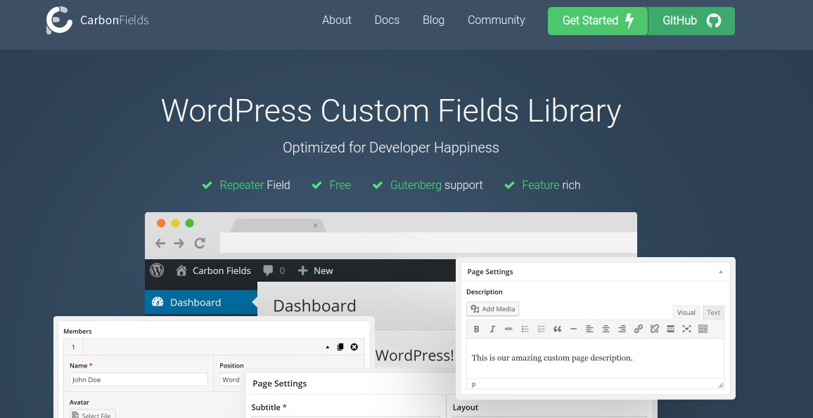 WordPress Custom Fields Plugins