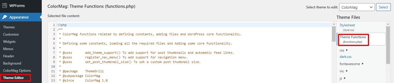 add custom image sizes in WordPress